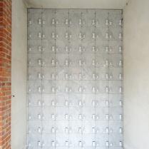 Seveso MI- Ossario arredato in marmorizzato Carrara